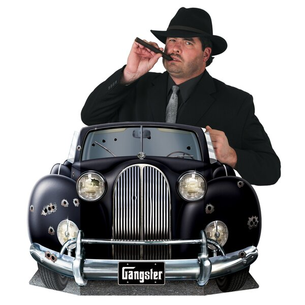 Gangster Car Photo Prop Stand-up by The Beistle Company