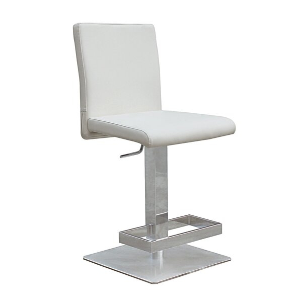 Witton Adjustable Height Bar Stool by Orren Ellis