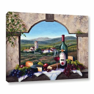 a tuscany vista painting print on wrapped canvas - Dining Room Wall Hangings