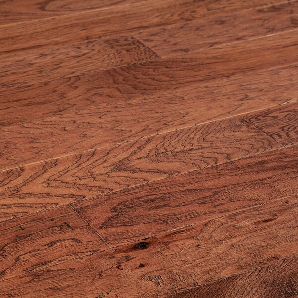 5 Myra Engineered Hickory Hardwood Flooring in Red by Welles Hardwood