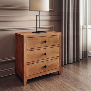 Palcon 3 Drawer Nightstand by STYLE N LIVING