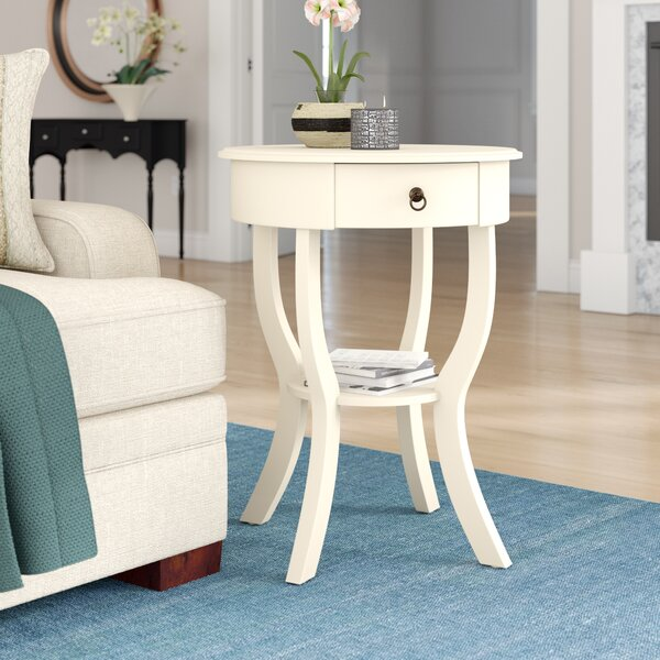 Nix Side Table by Charlton Home
