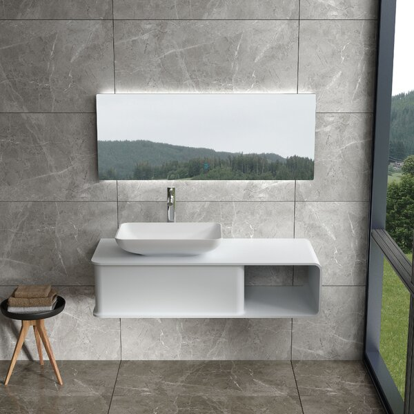 Champion 47 Wall Mounted Single Bathroom Vanity by Orren Ellis