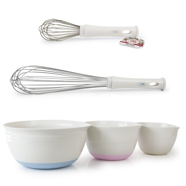 Totally Sweet Products 5 Piece Mixing Bowls Set by Architec