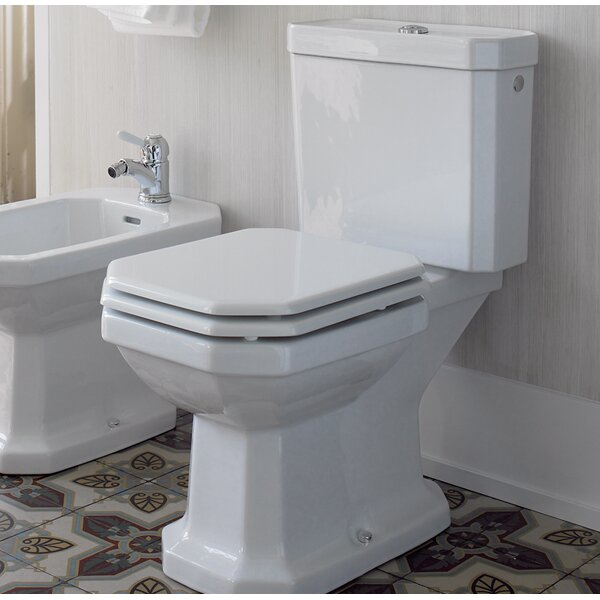 1.28 GPF (Water Efficient) Elongated Two-Piece Toilet (Seat Not Included) by Duravit