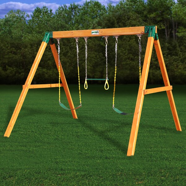 Free Standing Swing Set by Gorilla Playsets