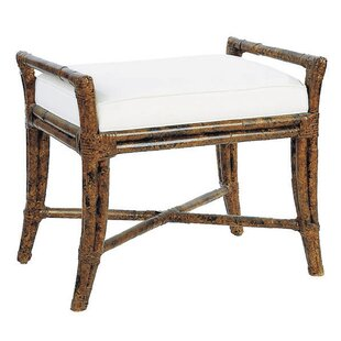 Malacca Wicker Bench by David Francis Furniture