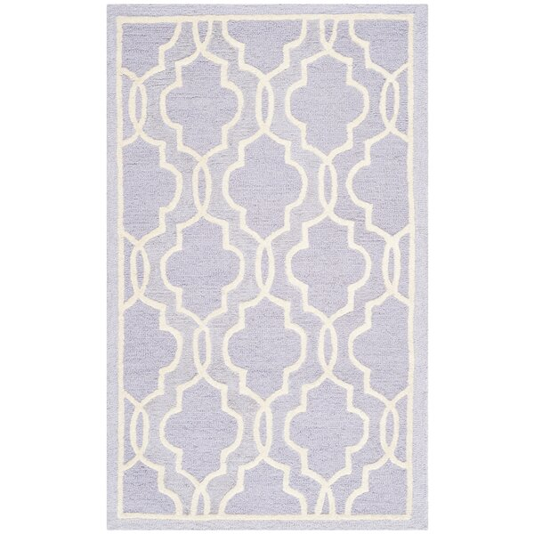 Martins Lavender   Area Rug by Wrought Studio