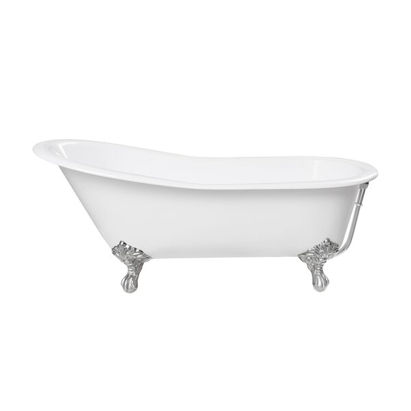 Whitney 29.56 x 29.56 Freestanding Soaking Bathtub by Maykke