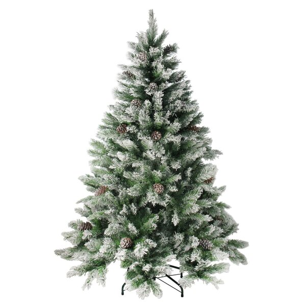 84 Green Pine Cones Artificial Christmas Tree by The Holiday Aisle