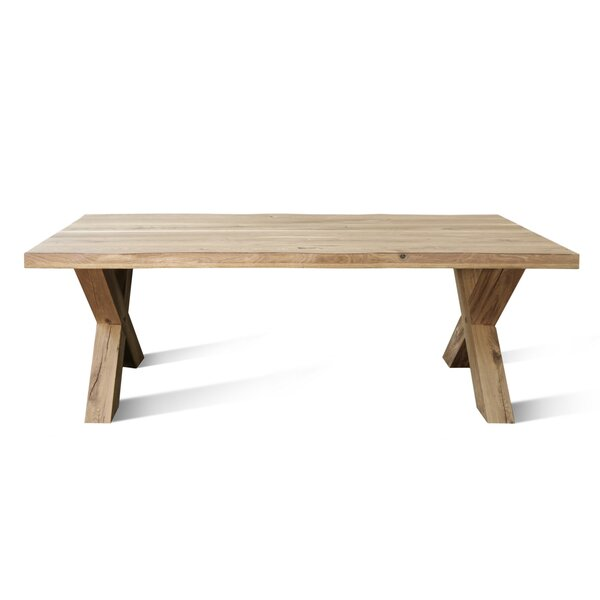 Nicholes XW Solid Wood Dining Table by Foundry Select