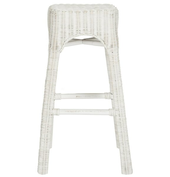 Hutton 30 Bar Stool by Rosecliff Heights