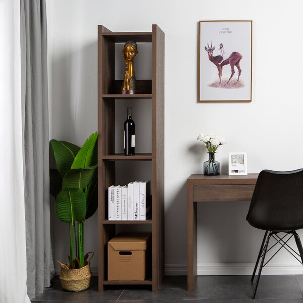 Davian 4-Cube Storage Toys Display Shelf Modular Standard Bookcase by Loon Peak Loon Peak®