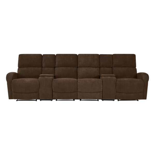 Get The Latest Krysta Modular Reclining Sofa by Red Barrel Studio by Red Barrel Studio