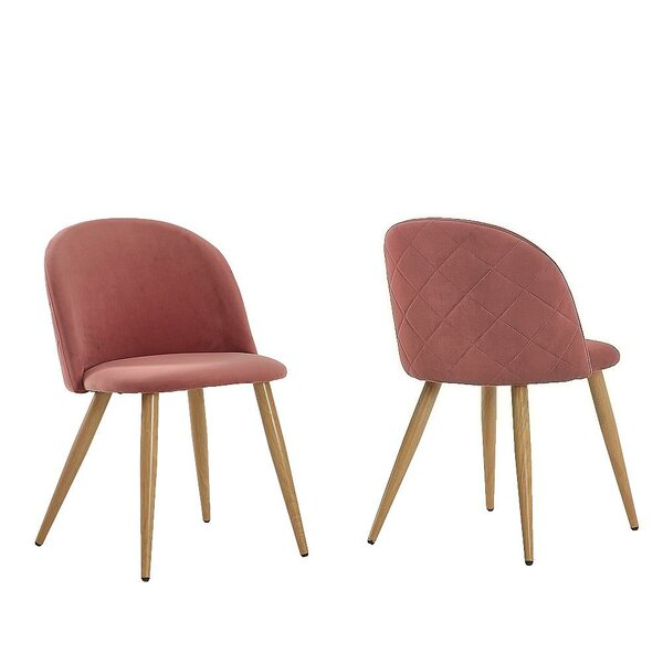 Kabamba Upholstered Dining Chair (Set of 2) by Wrought Studio Wrought Studio