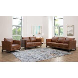 Sheldrake 3 Piece Standard Living Room Set by Sand & Stable™