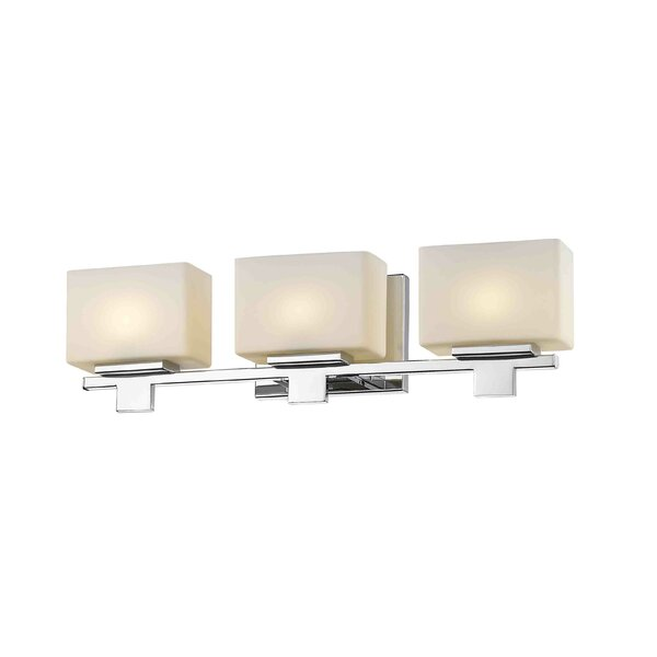 Canyonville 3-Light Bath Bar by Ebern Designs