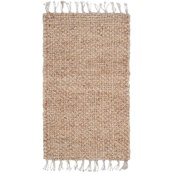 Liza Hand-Woven Natural Area Rug by Mistana