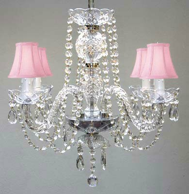 Kelly 4-Light Shaded Chandelier by House of Hampton