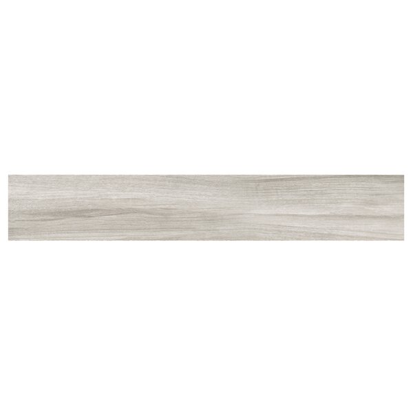 Naturalia Pioppo 6 x 36 Porcelain Wood Look Tile in Gray by Casa Classica