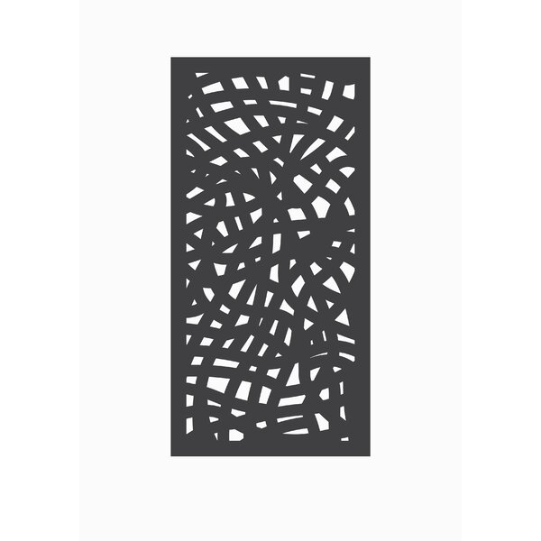 4 ft. H x 2 ft. W Nest Fence Panel by OUTDECO