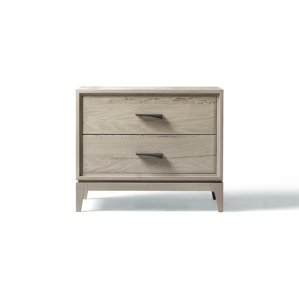 Matteo 2 Drawer Nightstand by YumanMod