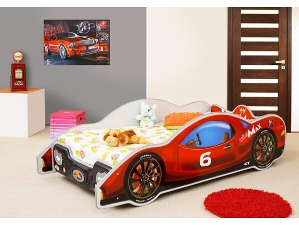 MiniMax Bed with Mattress by Zoomie Kids
