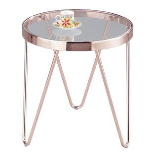 Glass Round Table Wayfaircouk - Wayfair glass side table