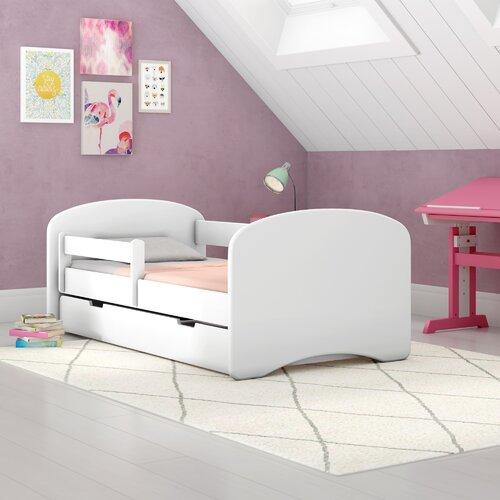 Karina Frame Bed with Drawers Zipcode Design