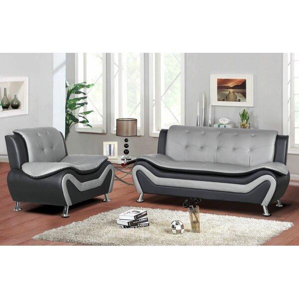 Gingerich 2 Piece Living Room Set by Orren Ellis