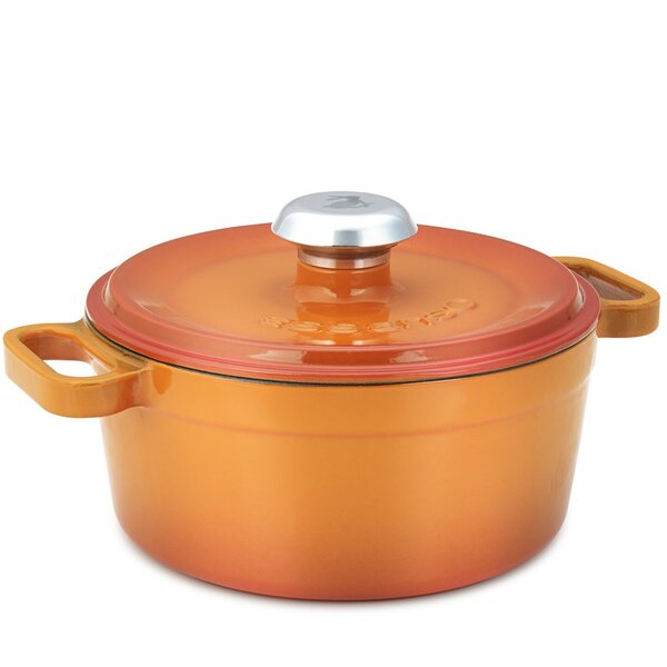 Chambery Non-Stick Cast Iron Round Casserole by Essenso