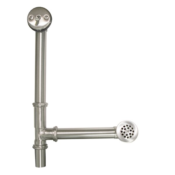 Aurora 6 Trip lever Tub Drain With Overflow by Native Trails, Inc.