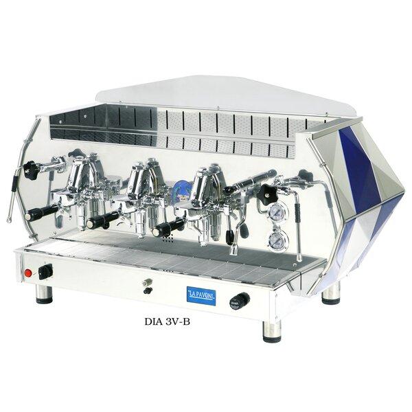 La Pavoni Diamente Volumetric Coffee & Espresso Maker by Isomac