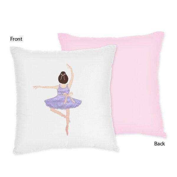 Ballerina Throw Pillow by Sweet Jojo Designs