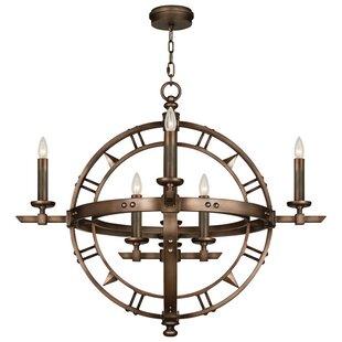 Liaison 8-Light Geometric Chandelier by Fine Art Lamps