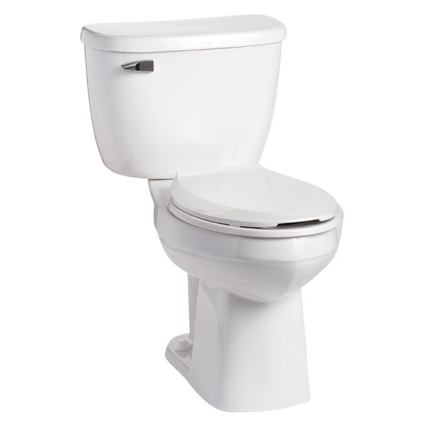QuantumOne Pressure-Assist 1.6 GPF Elongated Two-Piece Toilet by Mansfield Plumbing Products