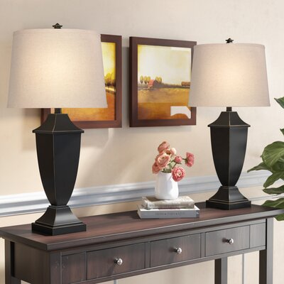 Black Tall Table Lamps You Ll Love In 2020 Wayfair