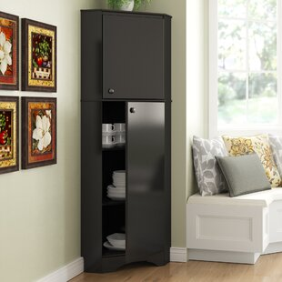 Tall Corner Storage With Doors Wayfair