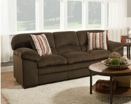 Low Cost Simmons Upholstery Otto Sofa Sweet Deals on