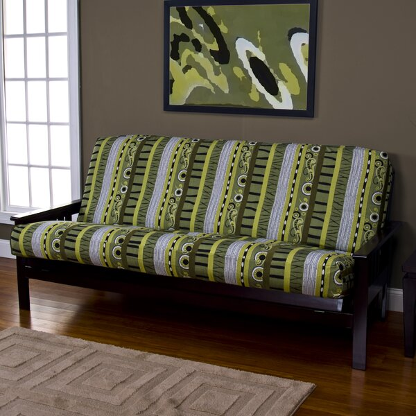 Arent Zipper Box Cushion Futon Slipcover By Latitude Run
