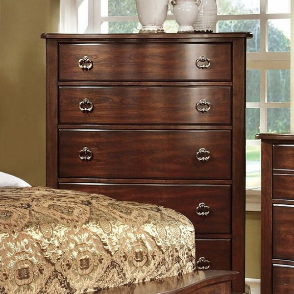 Rossman 5 Drawer Chest by Charlton Home