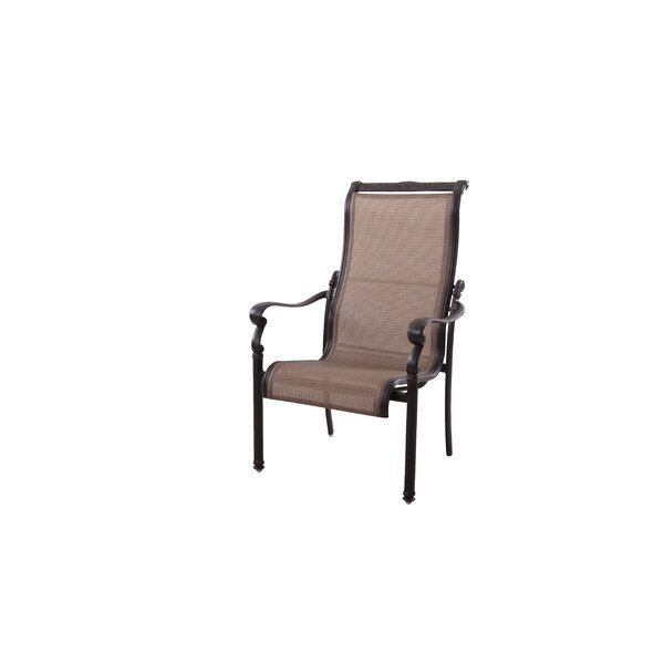 Bagwell Stacking Patio Dining Chair by Darby Home Co