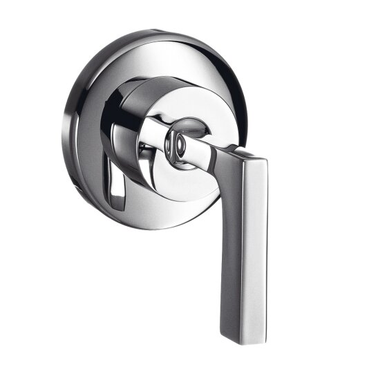 Axor Citterio Volume Control Faucet Trim with Lever Handle by Axor