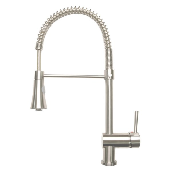 Pull-Down Single Handle Kitchen Faucet by Zenvida