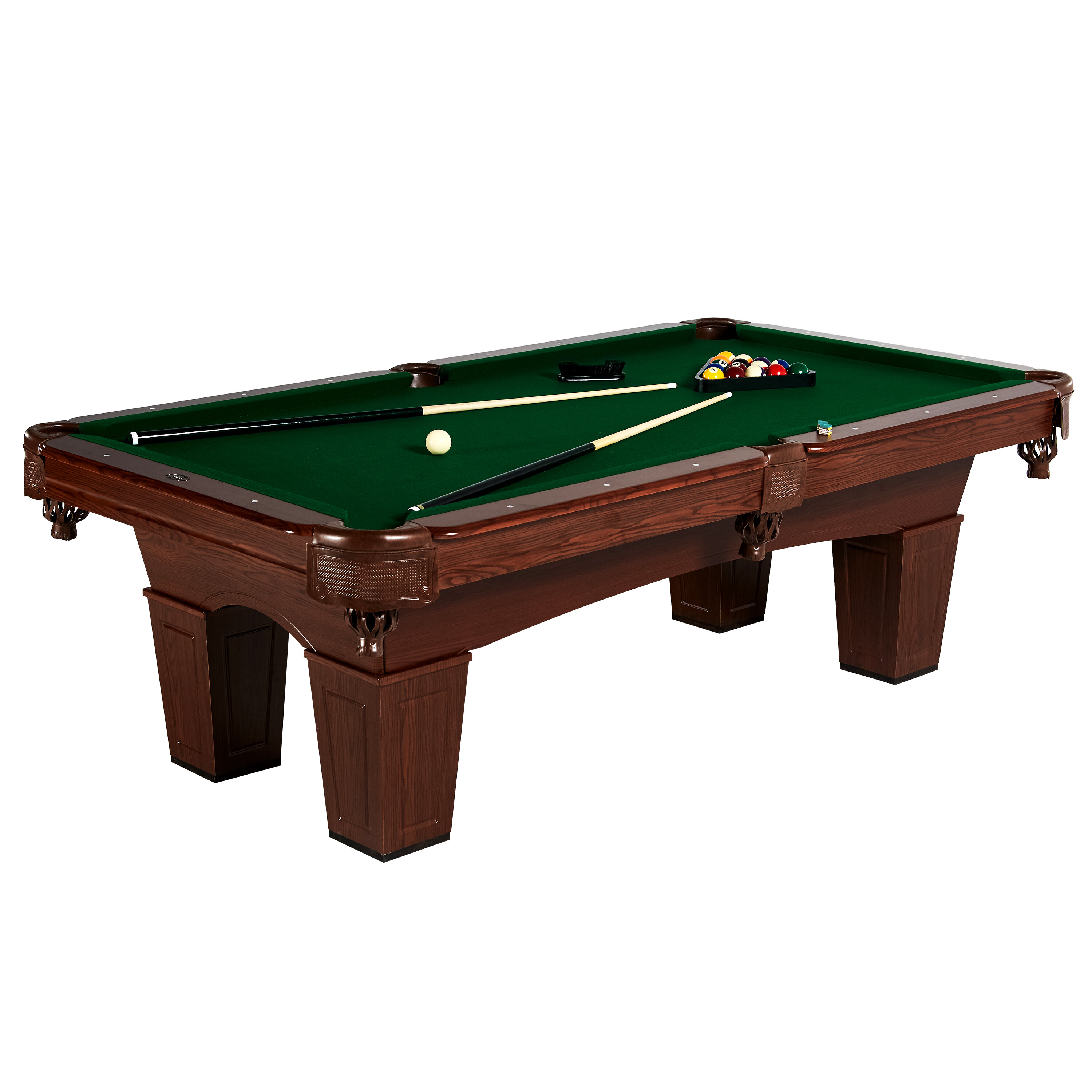 MD Sports Crestmont Billiard Table Reviews Wayfair - Pool table with no holes