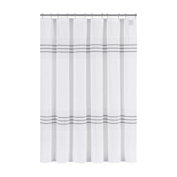 Blaine Cotton Shower Curtain by Highland Dunes