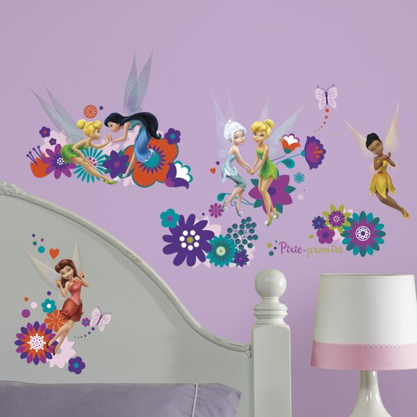 Disney Best Fairy Friends Wall Decal By Room Mates.