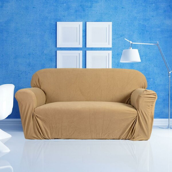 Stretch 3-Seat Sofa Slipcover by Rebrilliant
