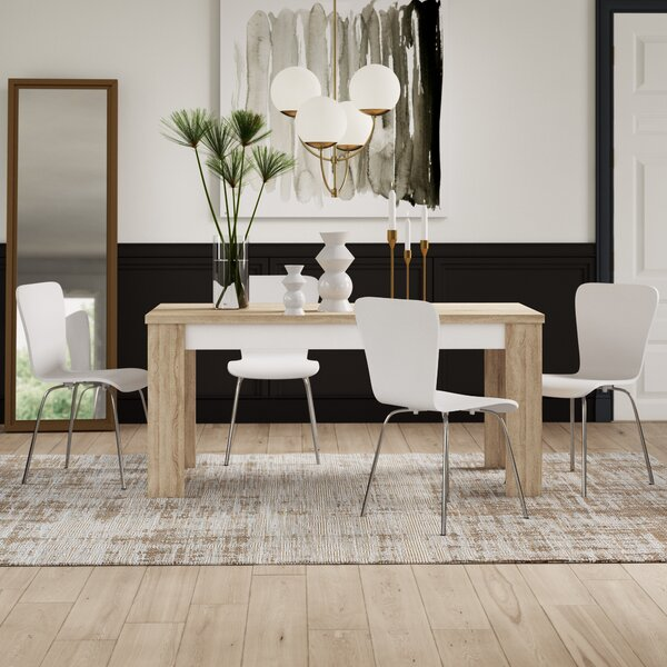 Algedi 5 Piece Dining Set by Mercury Row