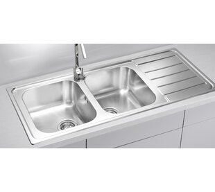 Line 116 Cm X 50 Cm Double Bowl Kitchen Sink